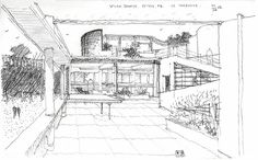 El Plan B Arquitectura: Le Corbusier,Villa Savoye Architecture Sketchbook, Study Architecture, Historical Architecture, Architecture Details, Le Corbusier, Monuments, Villa Savoye, La Grande Motte, Exposition Photo