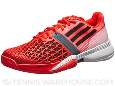 adidas adizero CC Feather III Red/Black Men's Shoe | Tennis Warehouse. More style news, suit reviews, tips & tricks and coupons at www.indochino-review.com #IndochinoReview