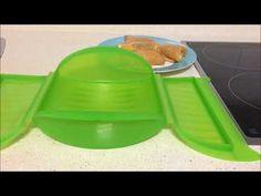 Rollitos de pollo y queso en estuche de vapor Lekue - YouTube Cocina Natural, Sin Gluten, Tupperware, Ice Cube Trays, I Foods, Healthy Recipes, Healthy Food, Cooking, Youtube