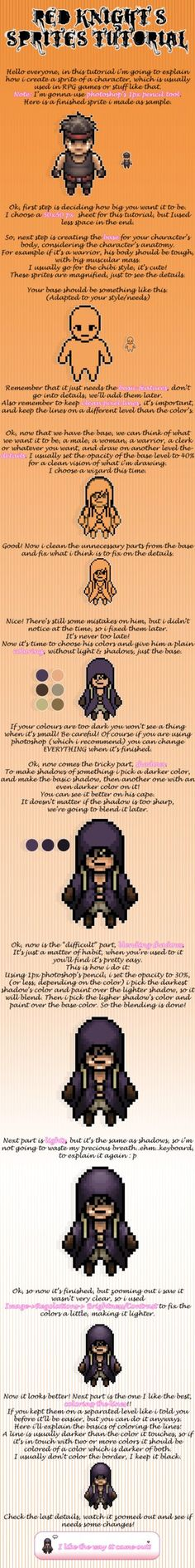 Red Knight's Sprite Tutorial by ~RedKnight91 on deviantART