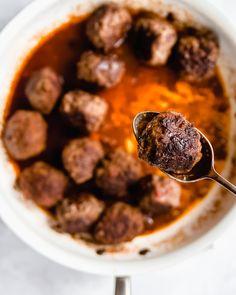 Pittige Gehaktballen - Food From ClaudNine Dinner Recipes, Foodies, Healthy, Ethnic Recipes, Om, Drinks, Drinking, Beverages, Drink