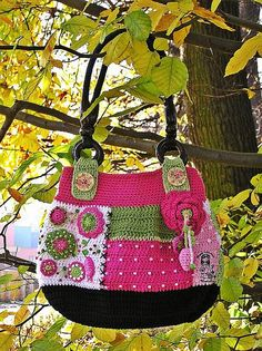 Crochet bag - one word only -WOW!