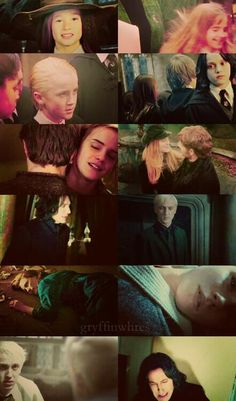 Dramione and Snily I ship them so hard. Makes me want to cry