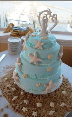 Beach Wedding Cakes - Bing Images