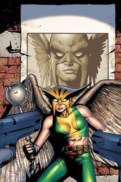 Hawkgirl - Greg Land