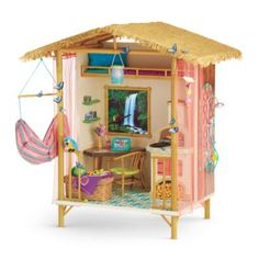 Lea's Rainforest House -   Lea awakens to the wonders of the rainforest outside her window. She can't believe how lucky she is to stay with her brother's host family in Brazil! This beautiful house will enchant your girl, too—and inspire dreams of traveling the world. This set features more than 30 items Z