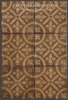 French Reclaimed Antique Terra Cotta Tile Tomette Mediterranean Floor Tiles Pinterest Antiques And York