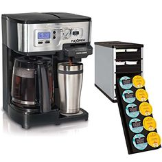 Hamilton Beach 49983 2Way FlexBrew Single12 Cup CoffeeMaker w 40 KKup Holder ** Continue to the product at the image link. (This is an affiliate link)