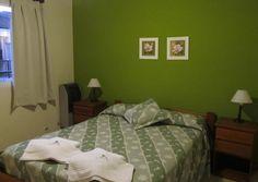 Habitacion matrimonial de uno de los departamentos de 2 a 4 personas.