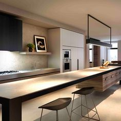 Marne St - Lombard and Jack Light #architecture #interiordesign #design #kitchen #kitchenisland #lighting