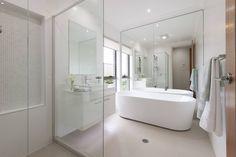 bathroom Designs Custom Bathrooms, Bathroom Designs, Bathtub, House, Houses, Standing Bath, Bath Tub, Home, Haus