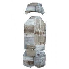 GMG bekleding    hout bruin/grijs