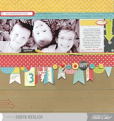 My Happy 3 by Robyn Werlich at Studio Calico - November Kits