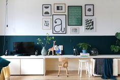 MY ATTIC voor KARWEI / diy wandmeubel / livingroom Fotografie: Marij Hessel Living Room Interior, Home Living Room, Home Bedroom, Girls Bedroom, Cupboard Shelves, Fashion Room, Boy Room, Playroom, Kidsroom