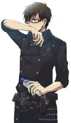 "Blue Exorcist ~~ Yukio Okumura.  Does anyone else absolutely love Yukio besides me? I convinced my older sister to watch the series and she came up to me and said ""I don't like Yukio. He's kinda a jerk and his face bugs me."" Of course I disagree with her. Anyone have any thoughts on his adorable face?"