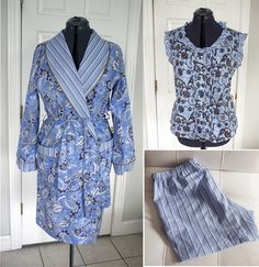 Fabric Mart Fabricistas  Made by a Fabricista  Cotton Voile Pajamas and  Robe Sewing Alterations 5a38d4db3