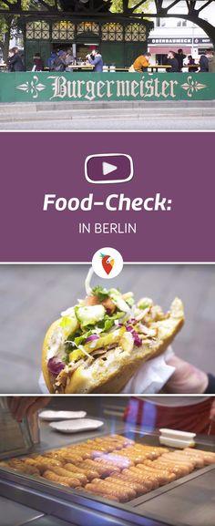 Currywurst, Döner und Burger sind in Berlin nicht mehr weg zu denken. Wir haben den Food-Check bei Mustafa's Gemüse Döner, Curry 36 und Burgermeister gemacht!