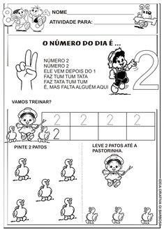 Matemática Infantil: Atividades Numerais Educação Infantil