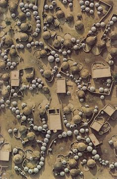 Labbezanga near the Mali-Niger border | National Geographic August 1975 | Georg Gerster
