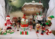 Christmas North Pole Holiday Party via Kara's Party Ideas : The North Pole