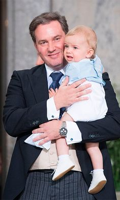 Prince Oscar of Sweden's christening: All the photos - HELLO! US