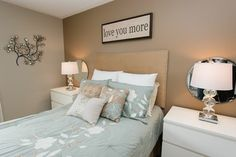 Teal and Gray Bedroom | Bedroom Design Ideas, Pictures, Remodels and Decor