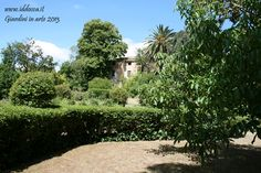 Immagine del suggestivo giardino Aymerich.  Picture of the charming garden Aymerich.