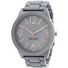 Nine West Matte Grey Watch
