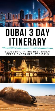 3 Day stopover in Dubai. What are the best things to do in Dubai with a 3-day stop? Taking you through a Dubai highlights itinerary with detailed instructions how to get around and alternates to appeal to all types of travelers | 3 day Dubai itinerary | Dubai travel tips to help you plan your dream Dubai trip | Dubai Travel Planner #Dubai Dubai Trip, Dubai Vacation, Dubai Travel, Dubai Mall, Dream Vacations, Travel Guides, Travel Tips, Travel Destinations, Dubai Attractions