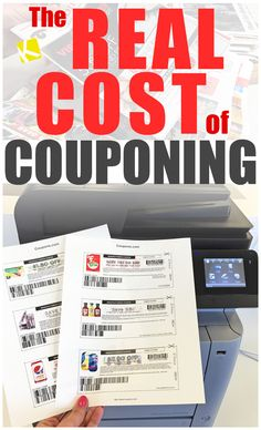 The Real Cost of Couponing