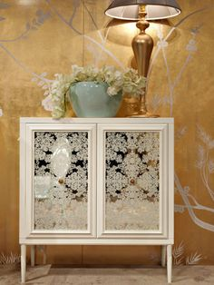 white and gold sideboards - Google Search