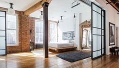 Un loft lumineux à New York
