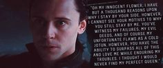 """Loki's Dirty Whispers - Submission: """"Oh my innocent flower, I have but a thousand reasons upon why I stay by your side..."""""""