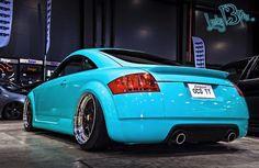 audi tt custom turquoise~ my midlife crisis car! Audi All Models, Tt Tuning, Porsche, Audi Tt Roadster, Car Mods, Tuner Cars, Audi Cars, Mk1, Fast Cars