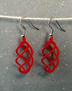 Un preferito personale dal mio negozio Etsy https://www.etsy.com/it/listing/261761647/orecchino-3d-print-earrings-3d-print
