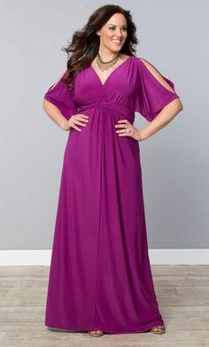 2015 sexy V neck fuchsia chiffon Plus Size prom Dresses 1/2 long sleeve sashes empire ruched floor length sheath evening Party dresses