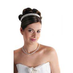 Swarovski Crystal Maggie Tiara Band - Bridal Jewellery - Crystal Bridal Accessories