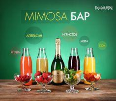 """""""Мимоза"""" бар: простые рецепты летних коктейлей"""