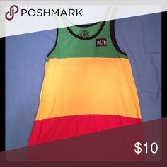 Bob Marley Tank Top Kick off Spring & Summer right with this Red/Green/Yellow Bob Marley Tank top Shirts Tank Tops
