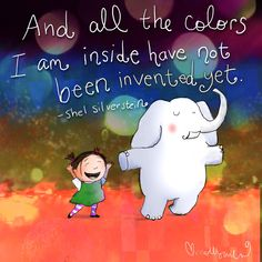 ...all the colors I am inside.... - Buddha Doodles