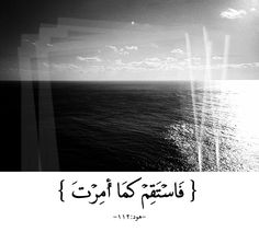 Stay steadfast Text فَاسْتَقِمْ كَمَا أُمِرْتَ Translation Therefore stay steadfast, as you have been commanded. (Quran 11:112) http://islamicartdb.com/stay-steadfast/