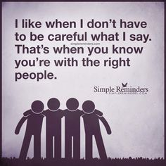 Yep!! If I have to walk on egg shells around someone, then they're just being tolerated for the sake of keeping the peace.