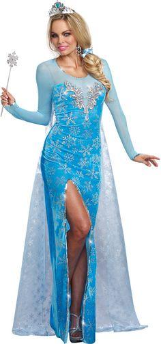 Ice Queen - Adult Elsa Costume