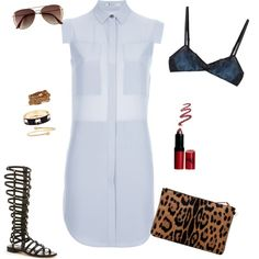 """Simple Chic"" by ediescloset on Polyvore"