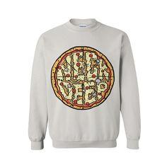 Pizza White Crewneck : HLR0 : MerchNOW