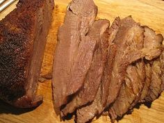 Texas Oven Roasted Brisket - Cook Eat Share (based on Paula Deen's brisket recipe)
