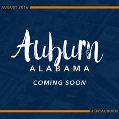 HUGE NEWS!! We're opening our next store location in (drum roll, please) AUBURN, AL!! Tag your Auburn friends & let them know our doors will be open in just a couple of weeks! Stay tuned for the *GRAND OPENING* date! YAY!