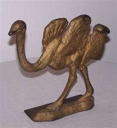 Ostrich...antique door stopper
