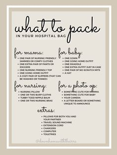 what to pack in your hospital bag – Down Home with the Irrs Thank Me Later, Going Home Outfit, Skin To Skin, Real Facts, Nursing Pillow, Down Syndrome, Hospital Bag, Nursery Inspiration, What To Pack