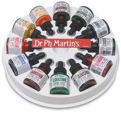 Amazon.com: Dr. Ph. Martin's Hydrus Fine Art Watercolor Bottles, 1.0 oz, Set of 12 (Set 2)